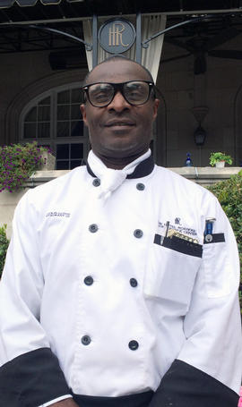 chef lloyd at hotel roanoke
